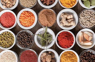 Spices are good for a heart healthy diet